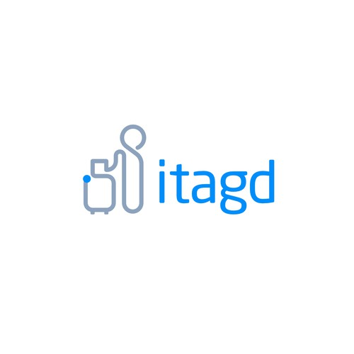 Logo Concept For Travel Industry itagd