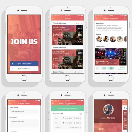 Create an app for events