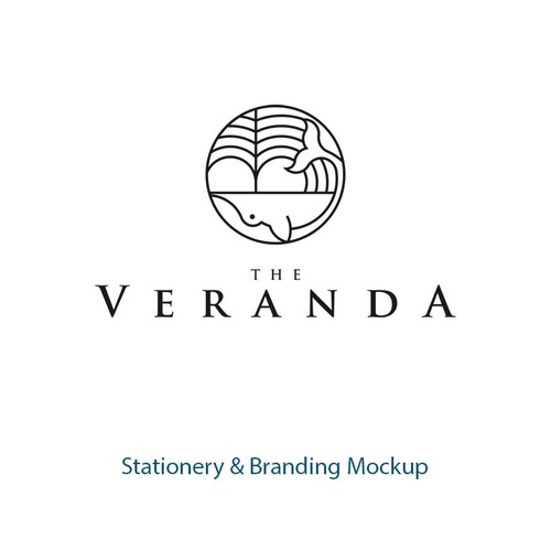 Logo concept for The Veranda