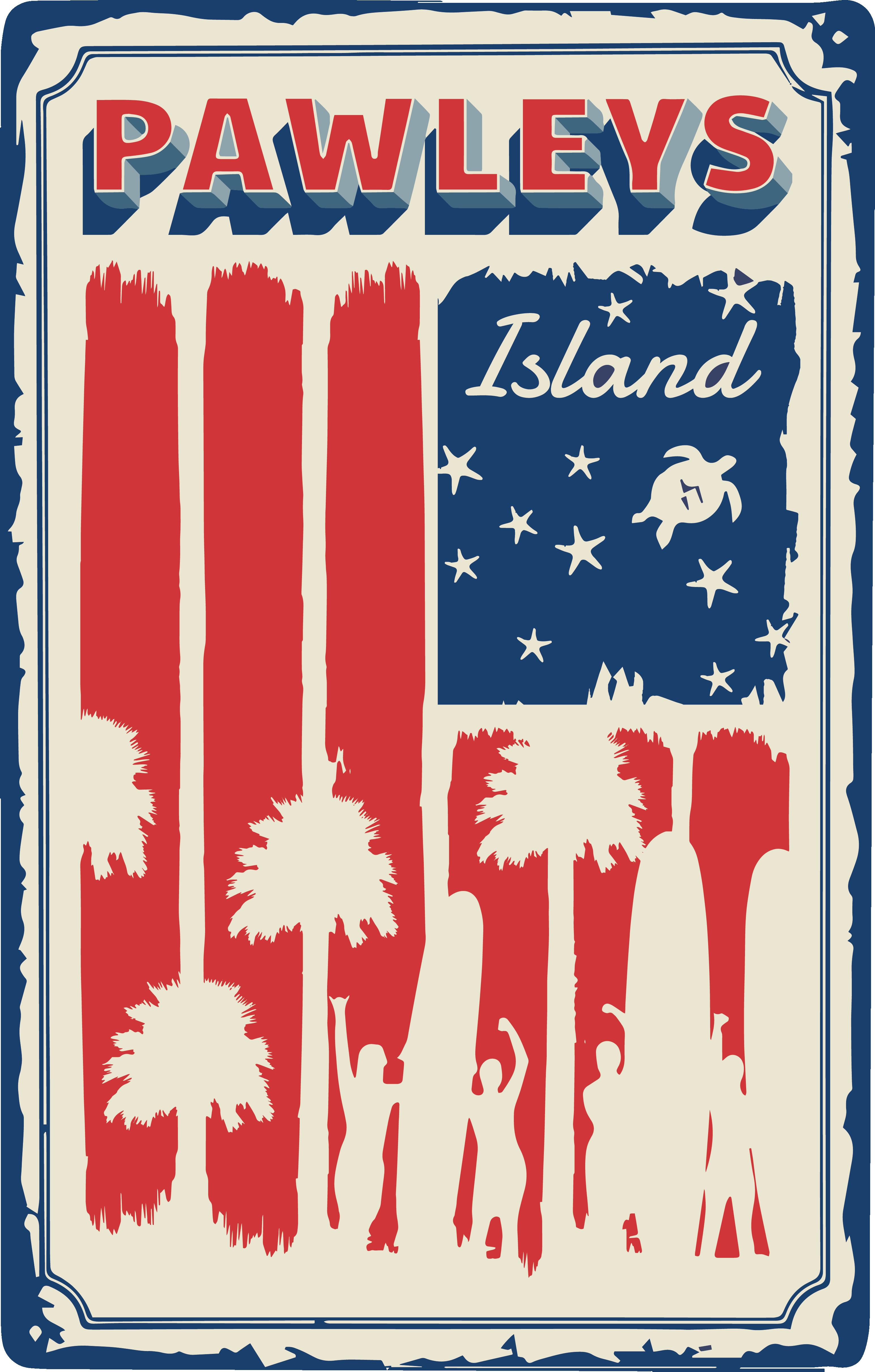 Pawleys Island 4th of July T-shirt