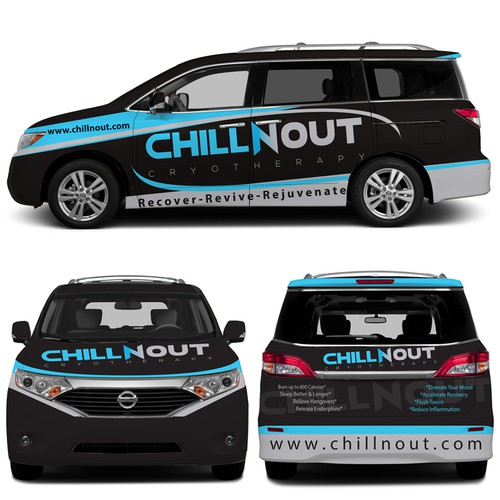 Chill n Out Car wrap