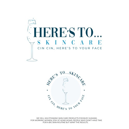 Here's to... Skincare logo