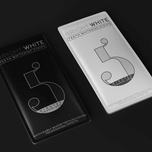 Packaging design for Teeth Whitening Strips