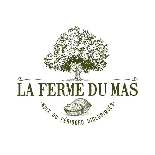 Logo design for a farm in Perigord, France
