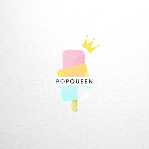 Watercolor popsicle
