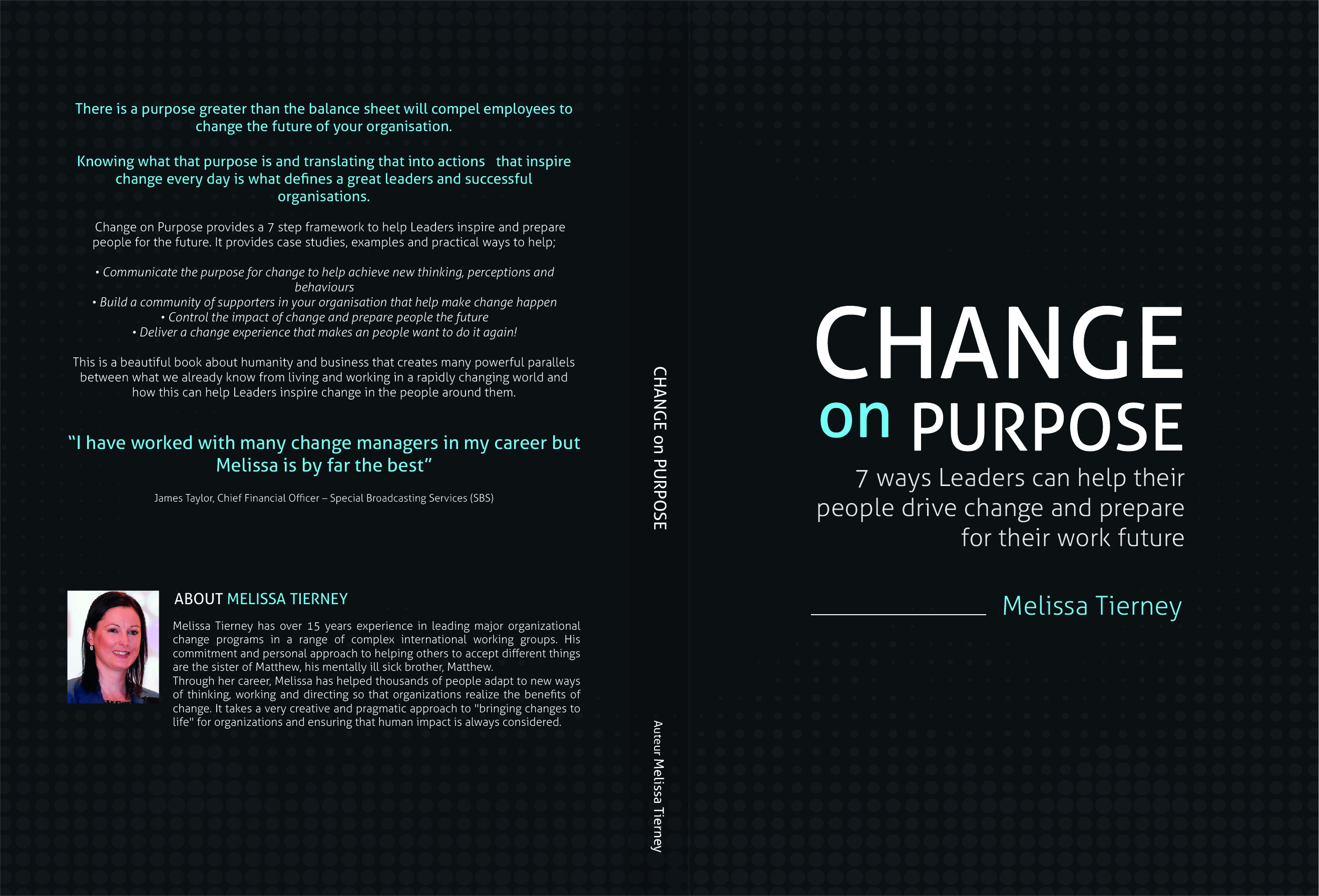 Catch the eyes of business leaders with fresh faced book focused on the future!