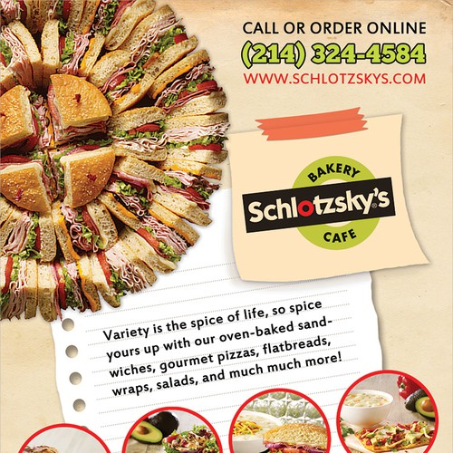Ad for Schlotzsky's Cafe and Bakery