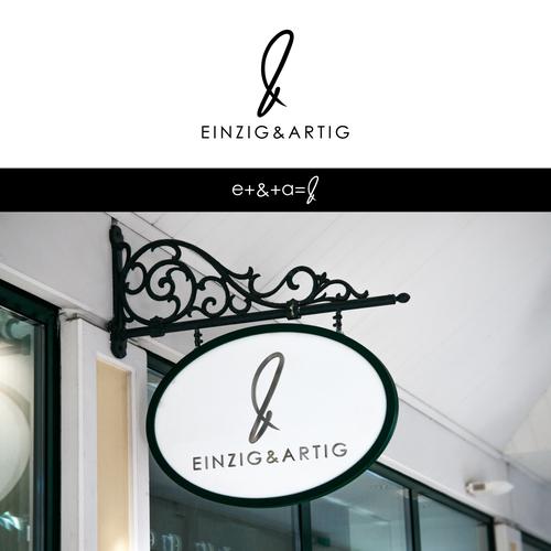 Einzig&Artig logo designs