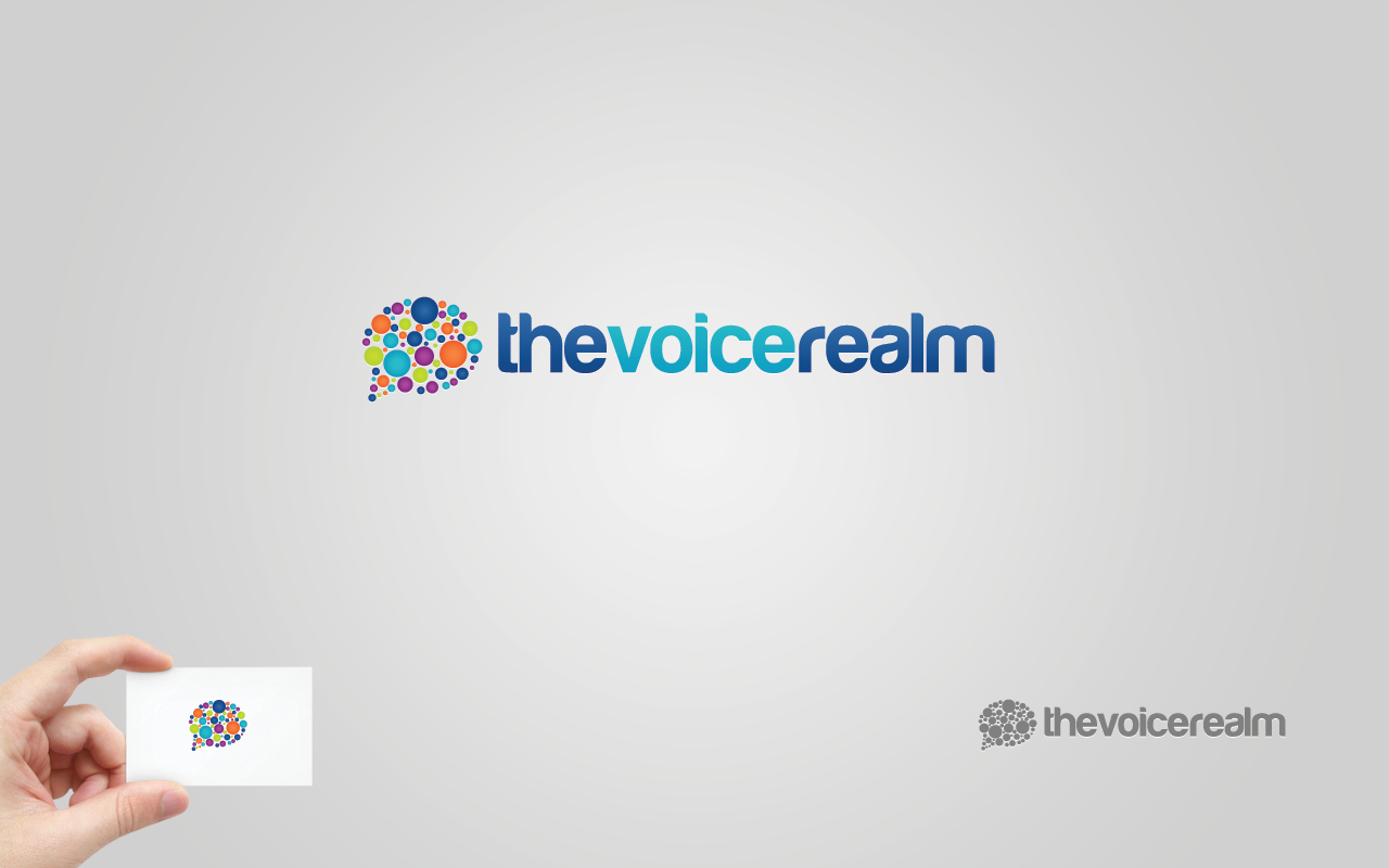 The Voice Realm needs a new logo