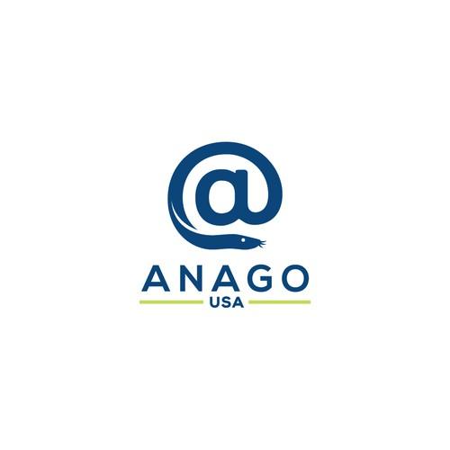 Logo Design for International Seafood Company Anago USA