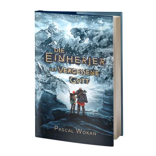 """Book Cover """"Die Einherjer: Der vergessene Gott"""""""