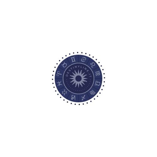 Astrology site logo concept