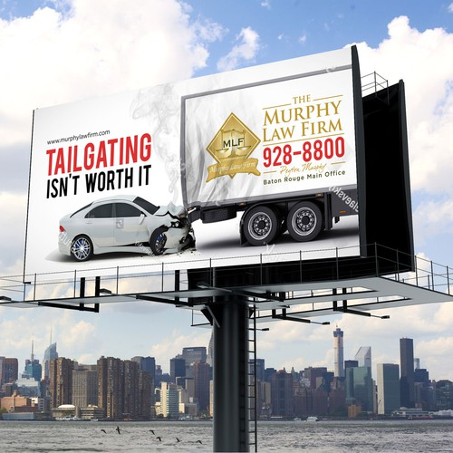 Murphy Law Firm Billboard Design