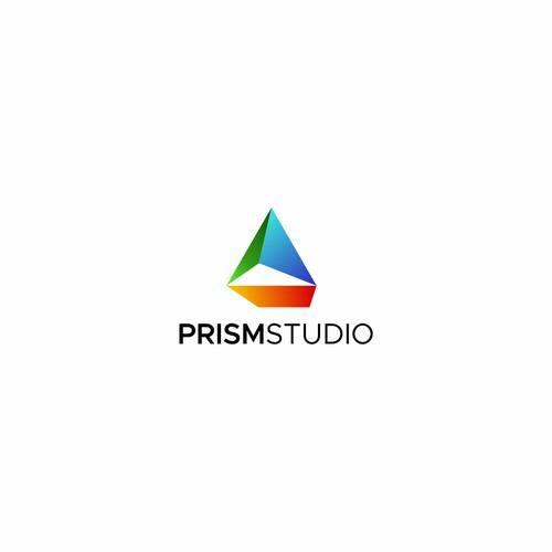 logo design for prismstudio