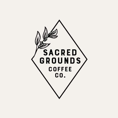 Sacred Grounds Coffee Logo