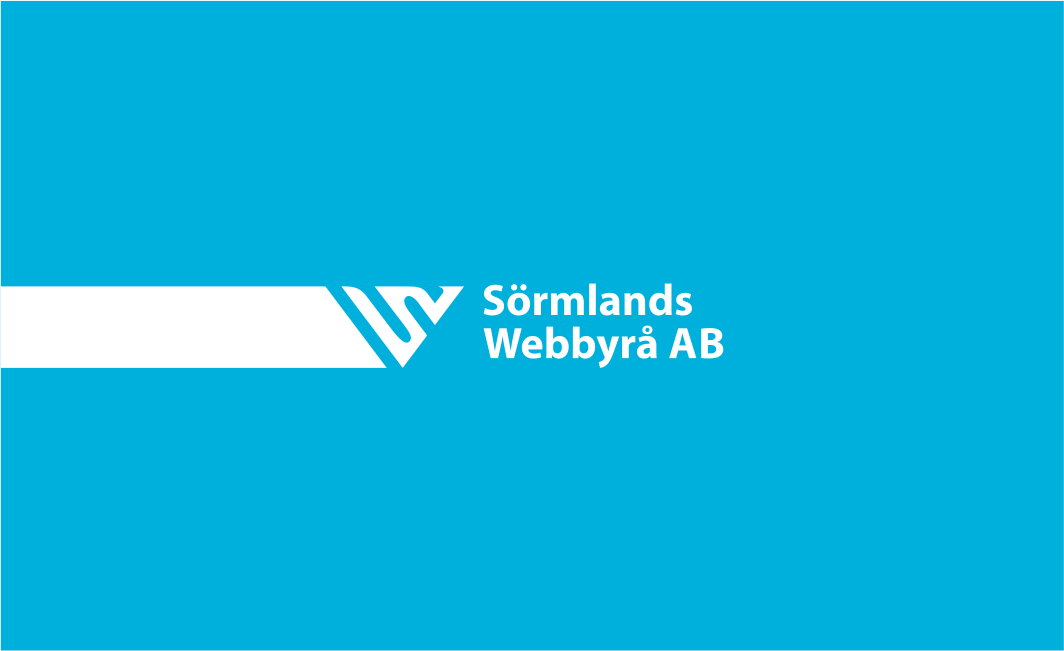 Simple but professional logo for Swedish web agency