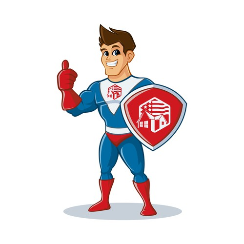 Superhero mascot home captain contest
