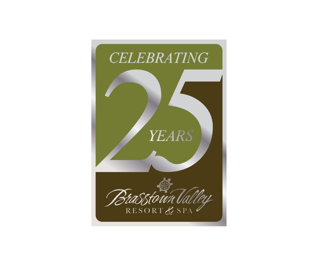 Brasstown's 25th Anniversary Logo