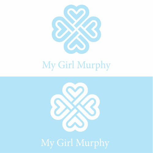 An edgy logo for My Girl Myrphy