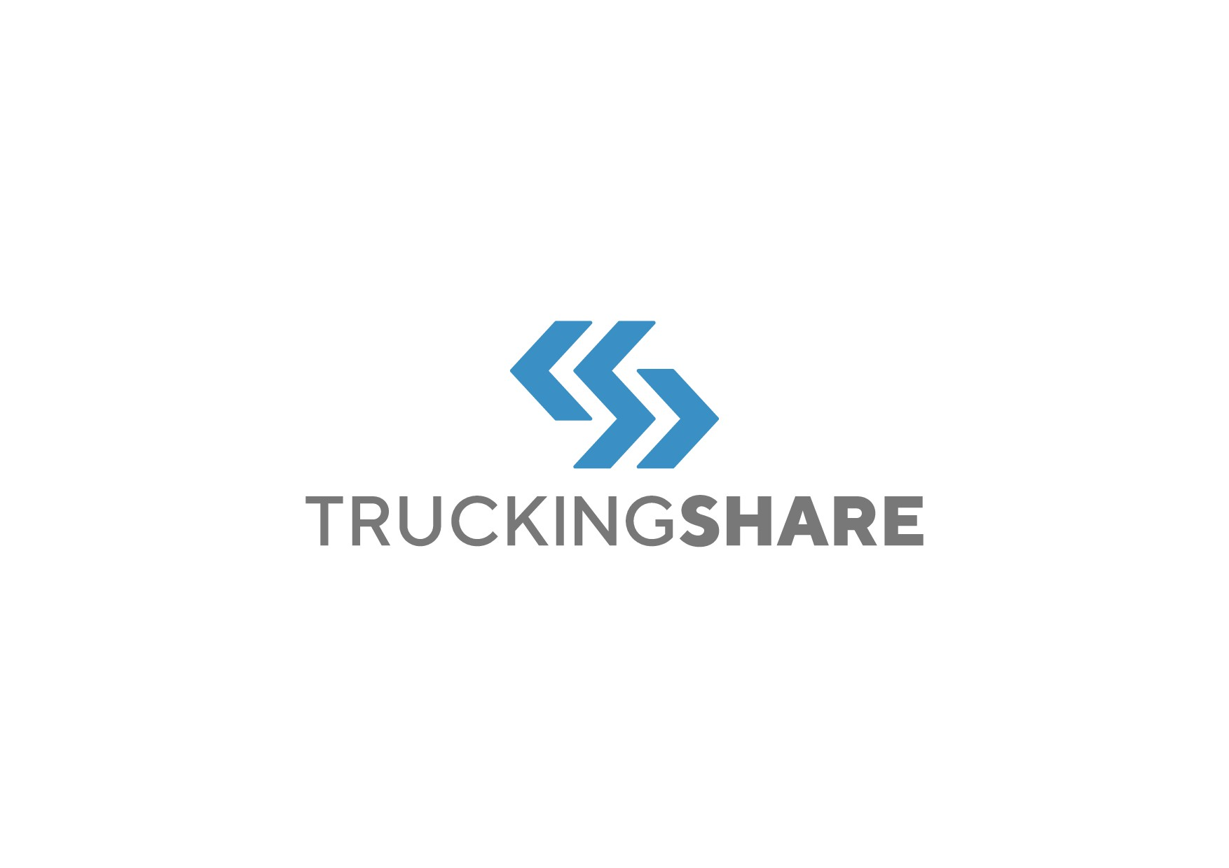 Logo for media company focusing on the business of trucking