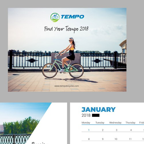 2018 calendar for hybrid electric bikes
