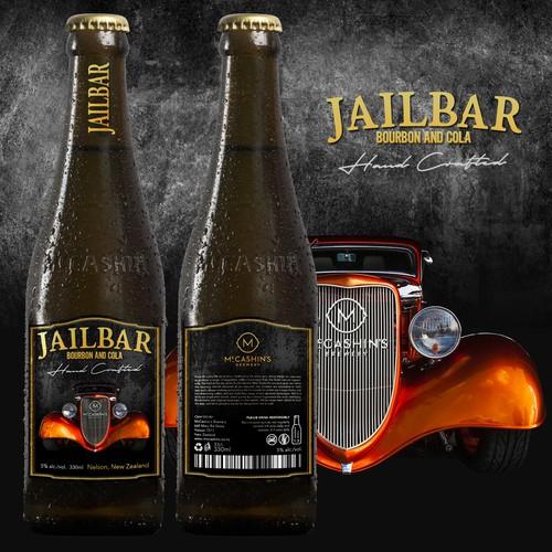 Concept Label: Bourbon & Cola