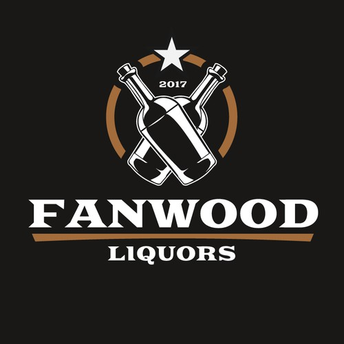 Logo for liquor store