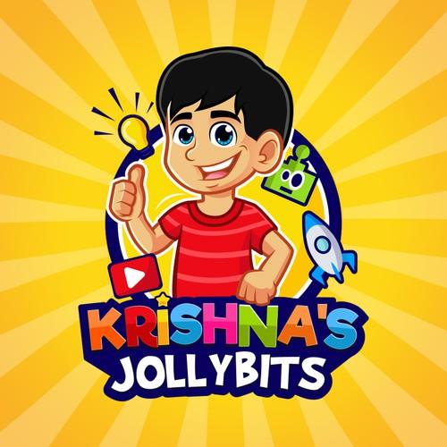 Mascot Cartoon Youtube Channel Logo
