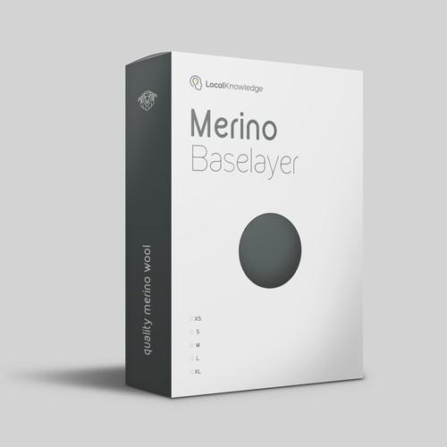 LocalKnowledge Merino Packaging