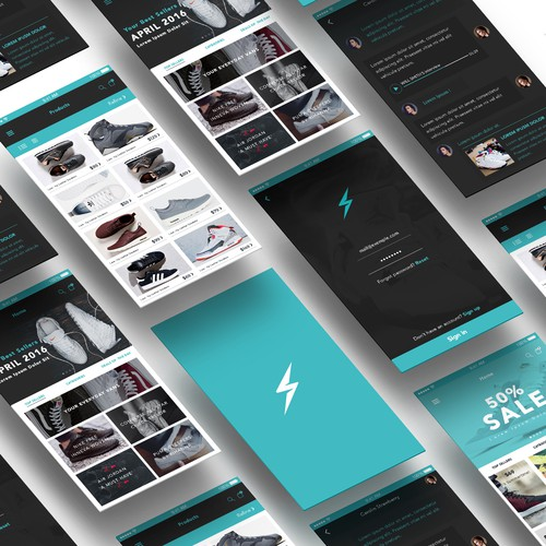 App concept for SneakerPlug