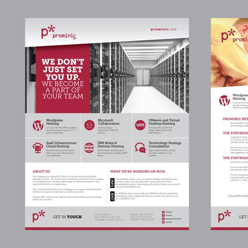 Prominic Marketing Flyer Template