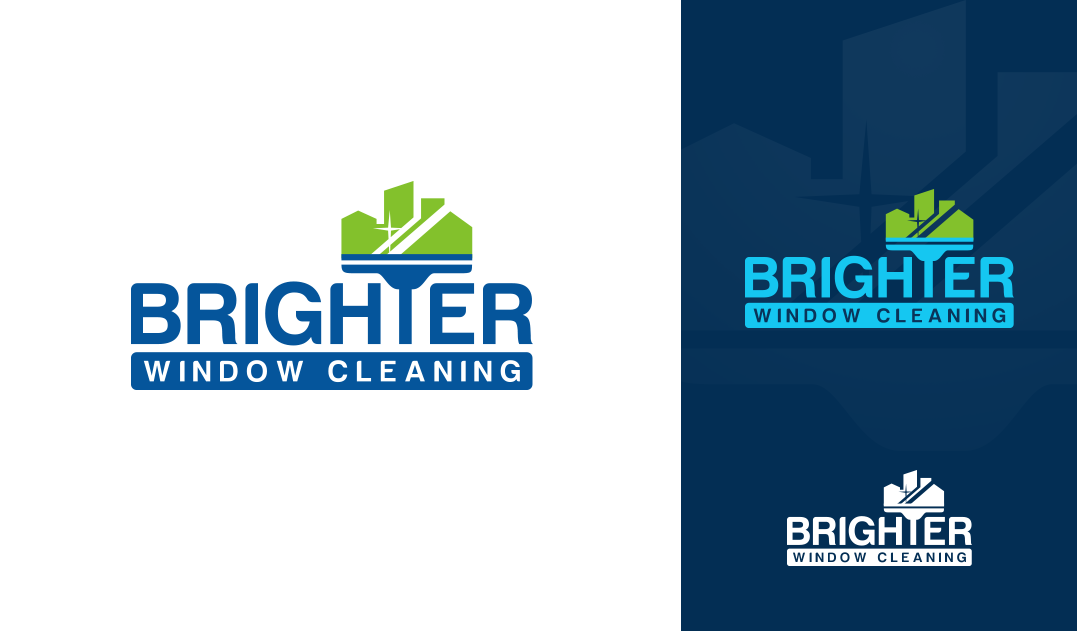 CLEVER new logo for Brighter Window Cleaning