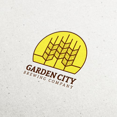 Logo for a brewery