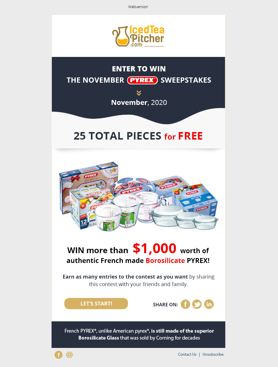 email template   for Give-Away Contest   Design picked in 3 days!