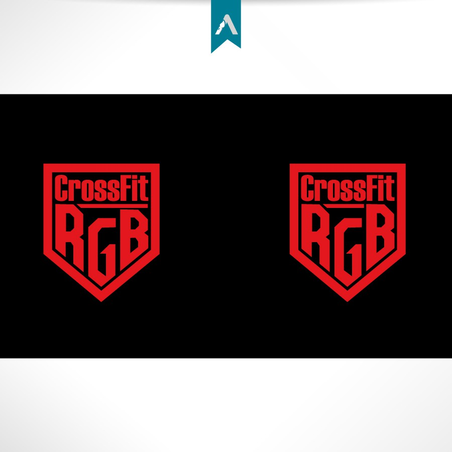 Create the next logo for CrossFit RGB