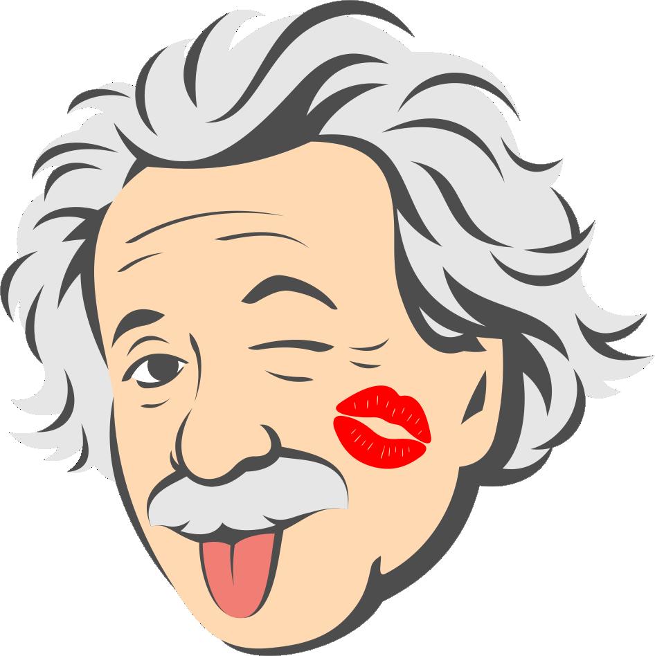 kissing logo