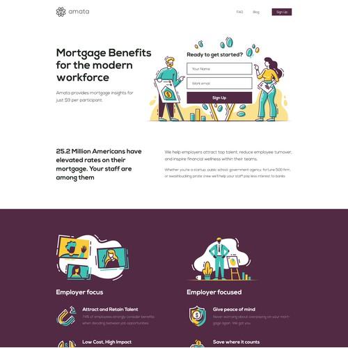 Website Design & Development - FinTech