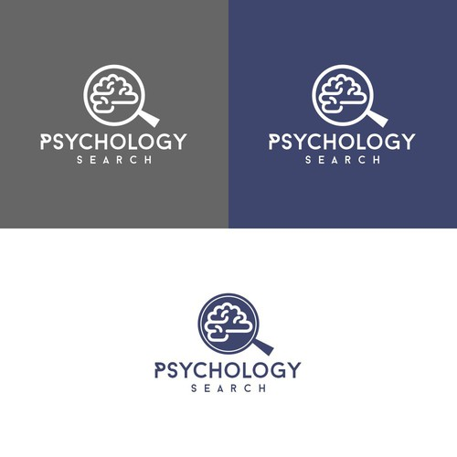Modern Logo Concept for Psichology Search