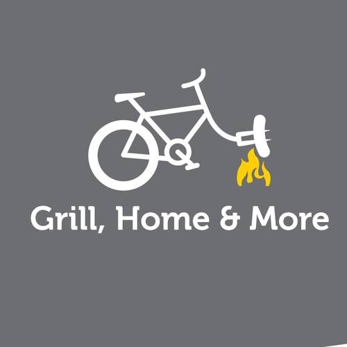 Great logo for a grill, bicycle & more store