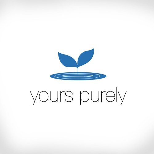 Concept for organic food product, Yours Purely.