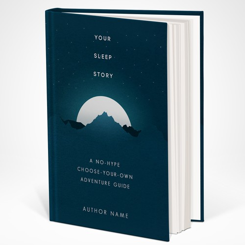 Book Cover for Non-Fiction Sleep Guide