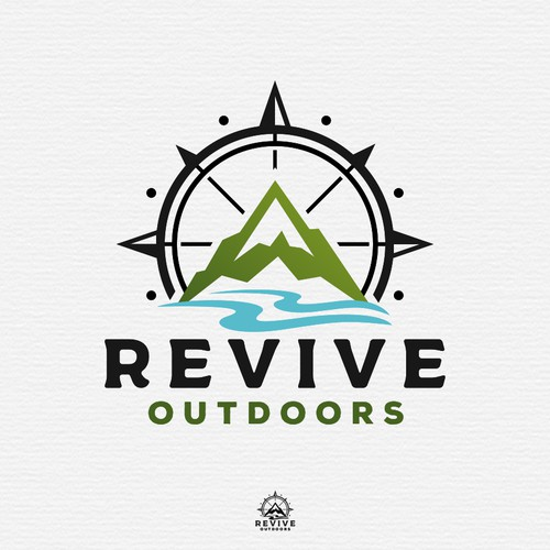 Logo design for Revive Outdoors