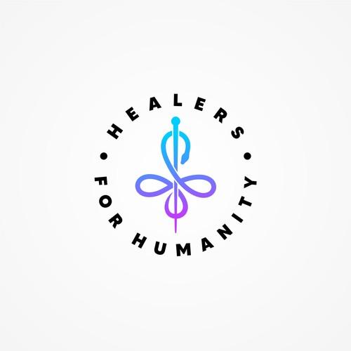 medical organization logo concept