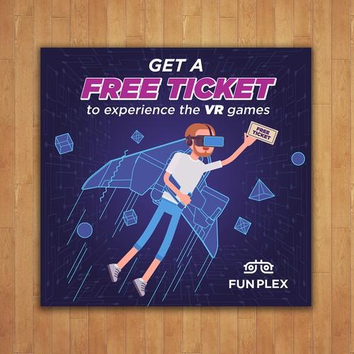 FUNPLEX VR Billboard