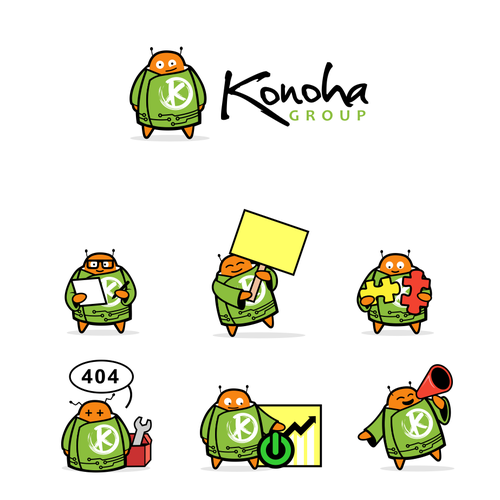mascot for konoha