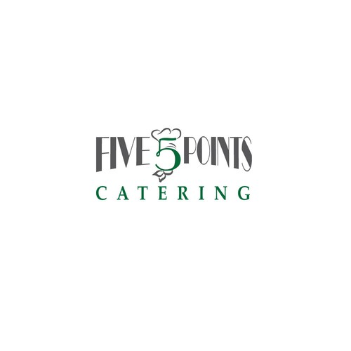 Unique logo for Catering Company