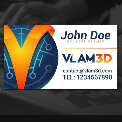 Logo Design for 3D Company