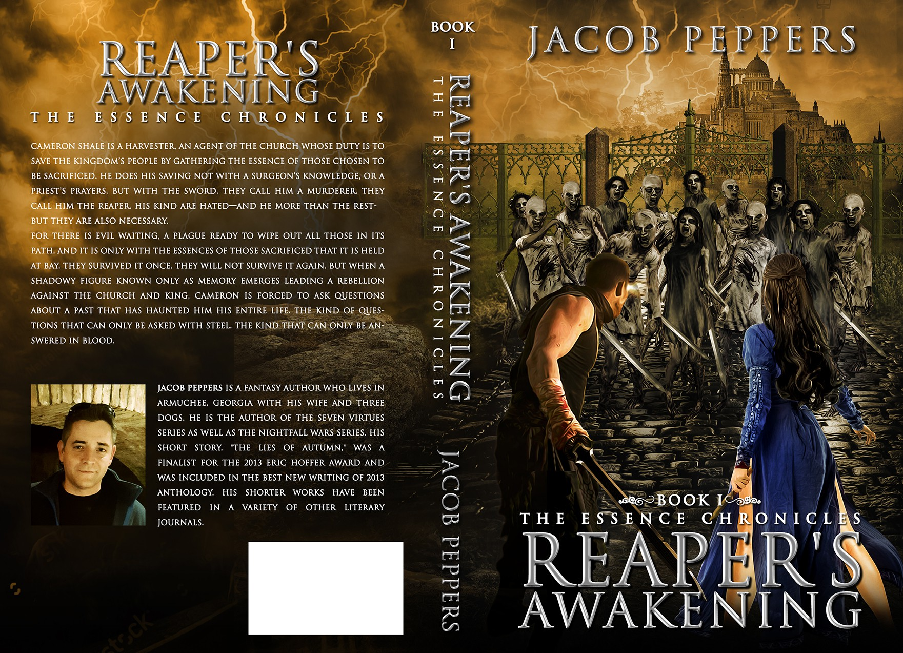 Dark Epic Fantasy book cover