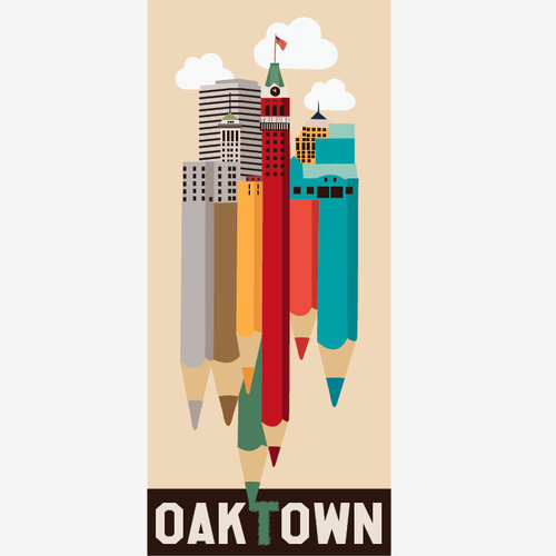 99 designs Oakland Poster