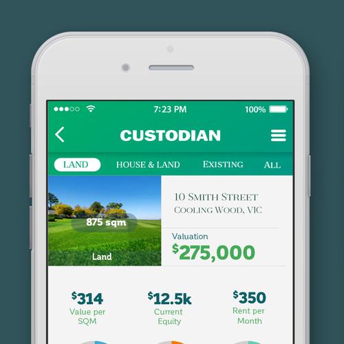 Mobile Application for Custodian-Australia